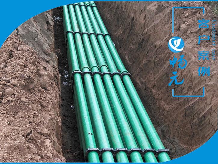 铜川新区玻璃钢管150-8产品铺设图1