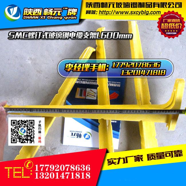 螺钉式玻璃钢电缆支架L600mm.jpg