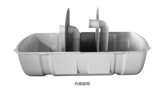 SMC玻璃钢模压化粪池内部结构