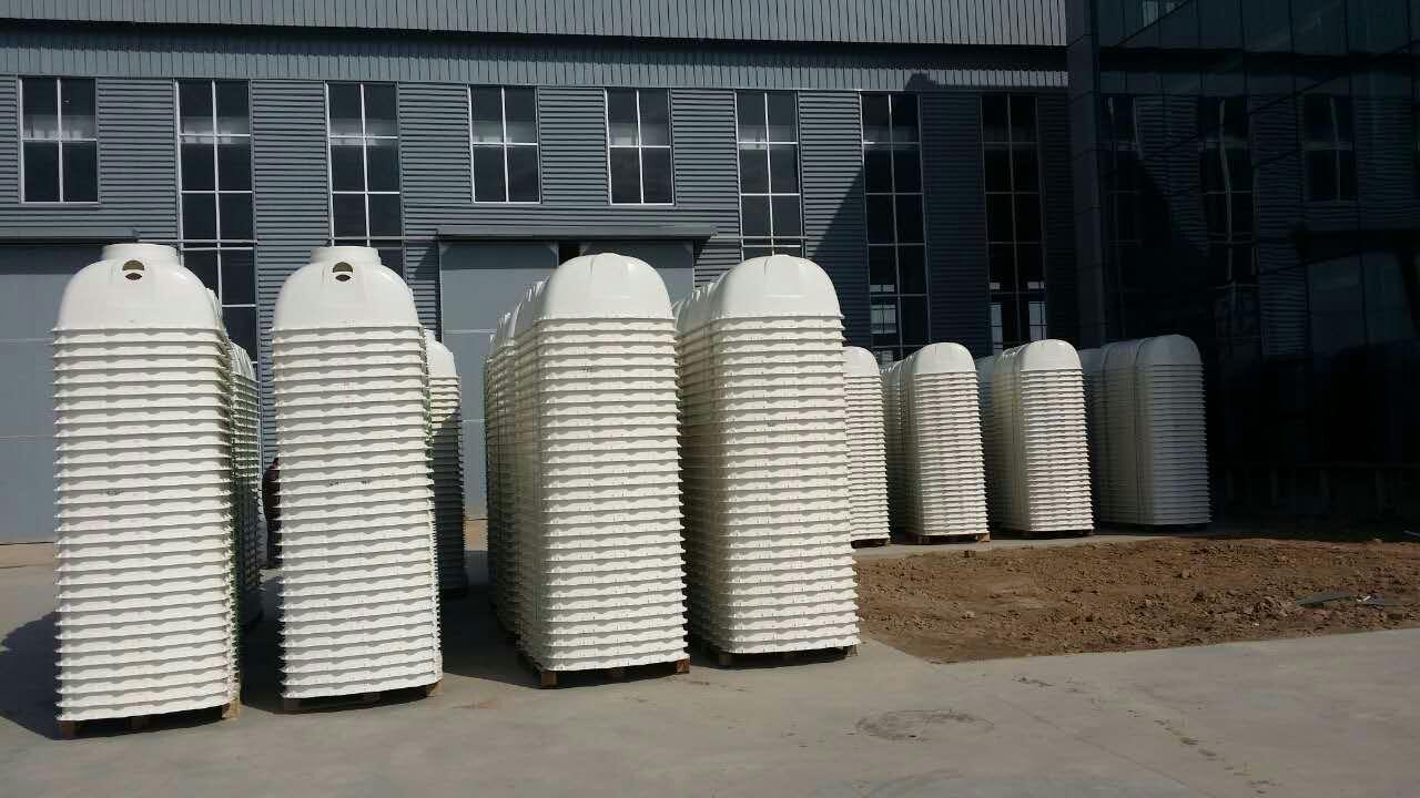 SMC玻璃钢模压化粪池成品区